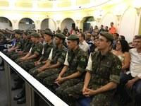 Atiradores do TG 04-021 recebem Diploma Valor Militar