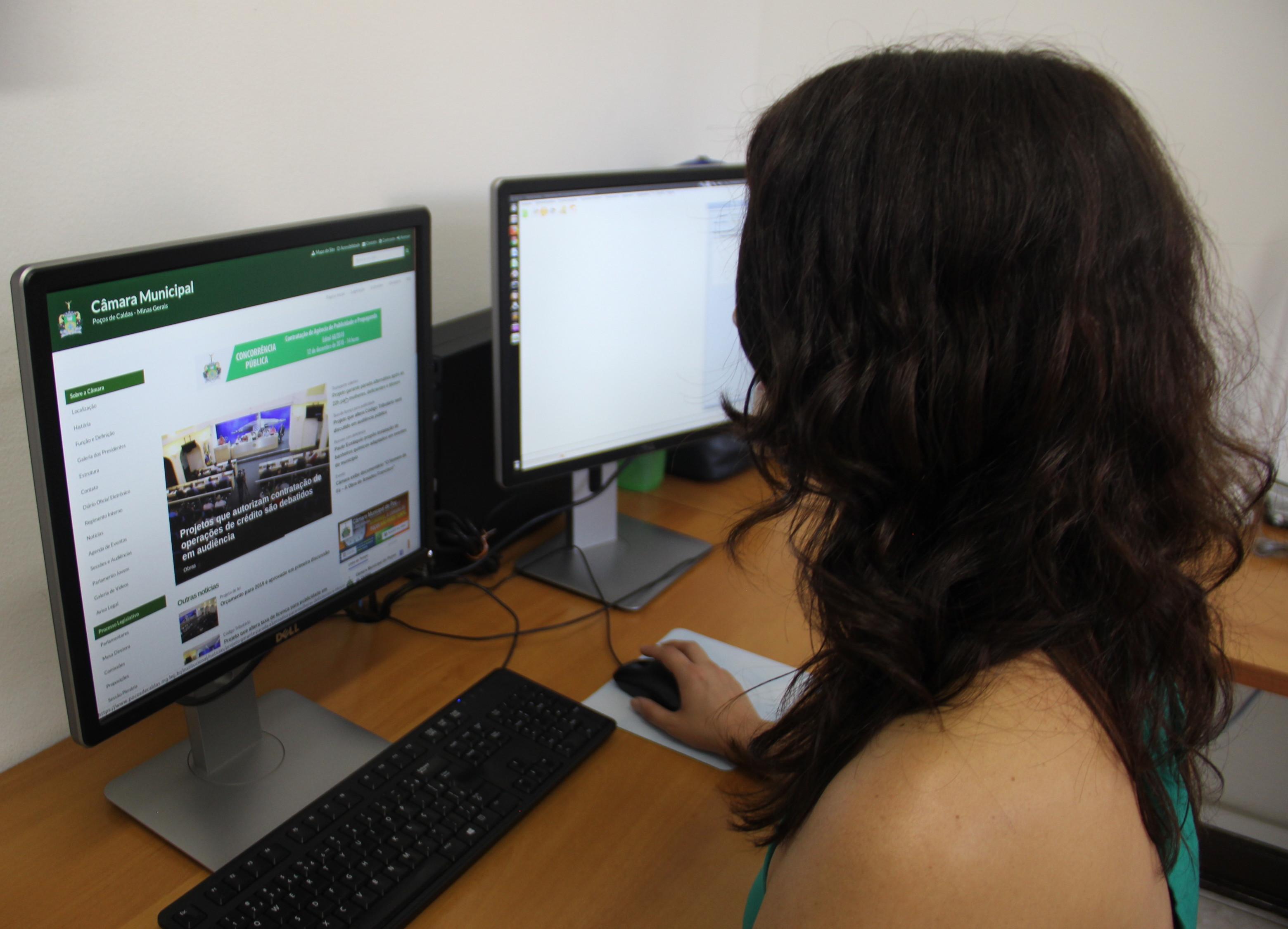 Câmara adota novo Portal em parceria com programa Interlegis