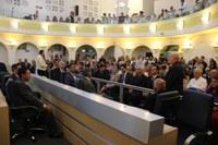 Câmara concede nove honrarias durante sessão solene