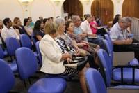 Câmara realiza palestra em comemoração ao Dia do Idoso