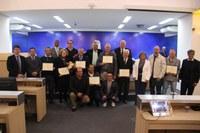 Câmara realiza sessão para entrega do Diploma de Mérito Ambiental
