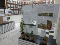 Câmara recebe exposição sobre trabalho do Jardim Botânico de Poços de Caldas