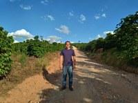 Manutenção das estradas rurais preocupa Lucas Arruda