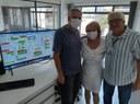 Regina Cioffi visita DMAE e conhece estrutura da ETA 1