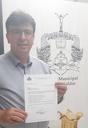 Vereador Kleber Silva protocola ofício abrindo mão de despesas de gabinete