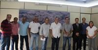 Vereadores recebem deputado estadual Mauro Tramonte